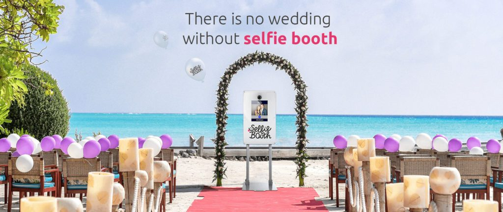 Image of There is no wedding without Selfie Booth