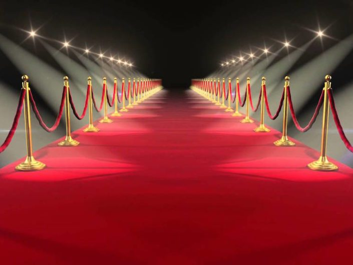 Image of Red carpet background