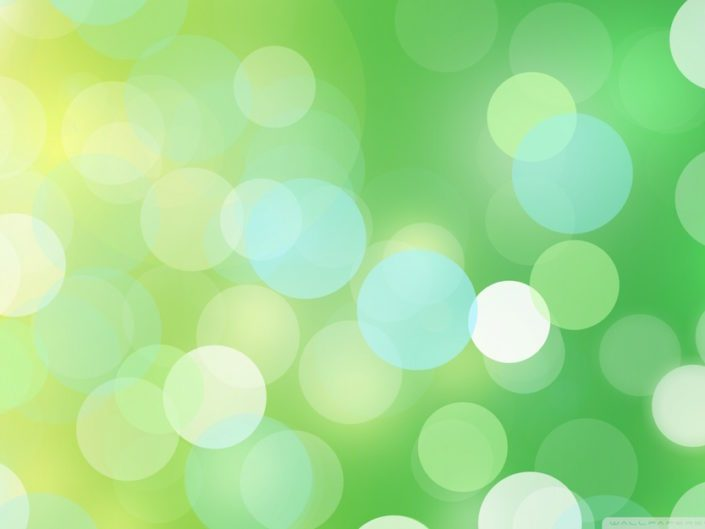 Image of Blurry light green shimmering background
